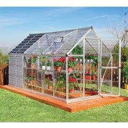 Serre de jardin potager gaya 1 2 m2