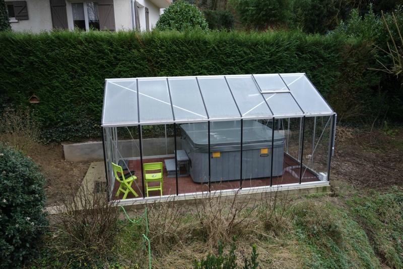 Serre de jardin imposable