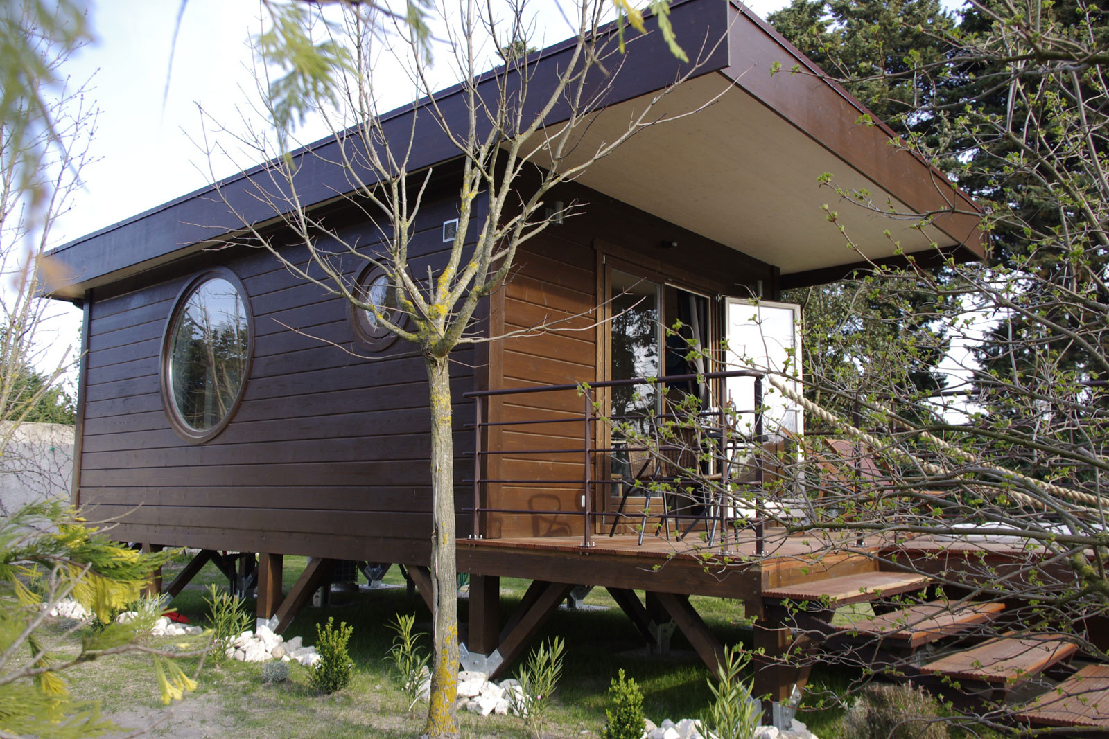 Cabane de jardin atypique