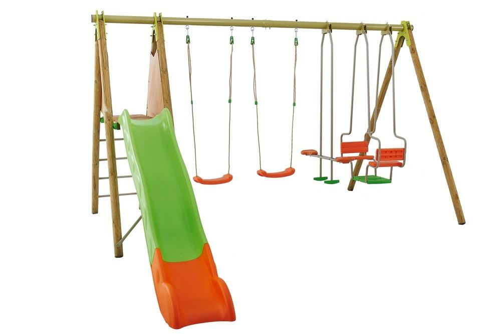 Balancoire trapeze