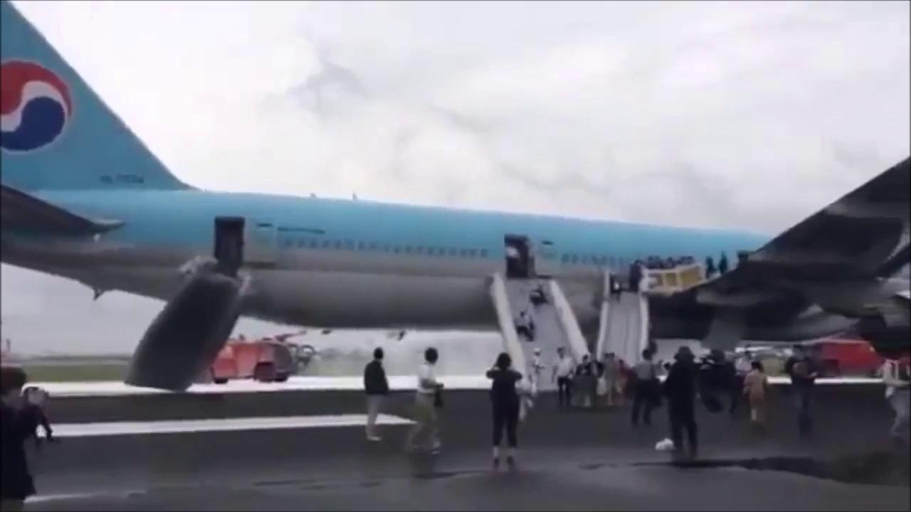 Toboggan d'avion