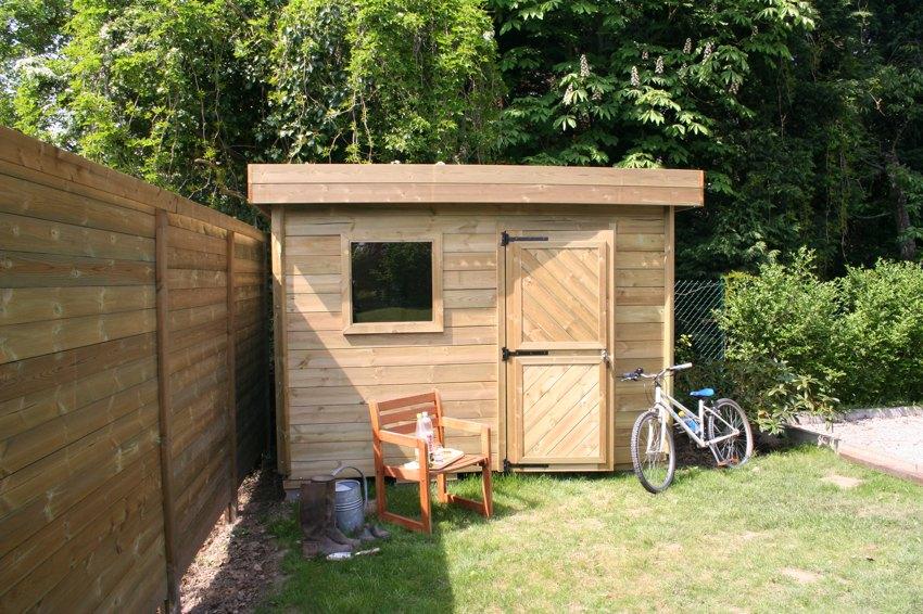 Cabane de jardin cube