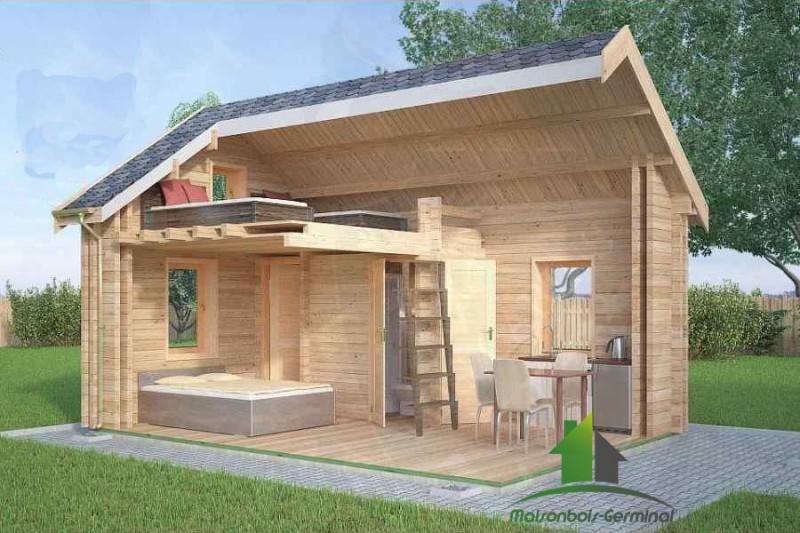 Abri de jardin 20m2 habitable