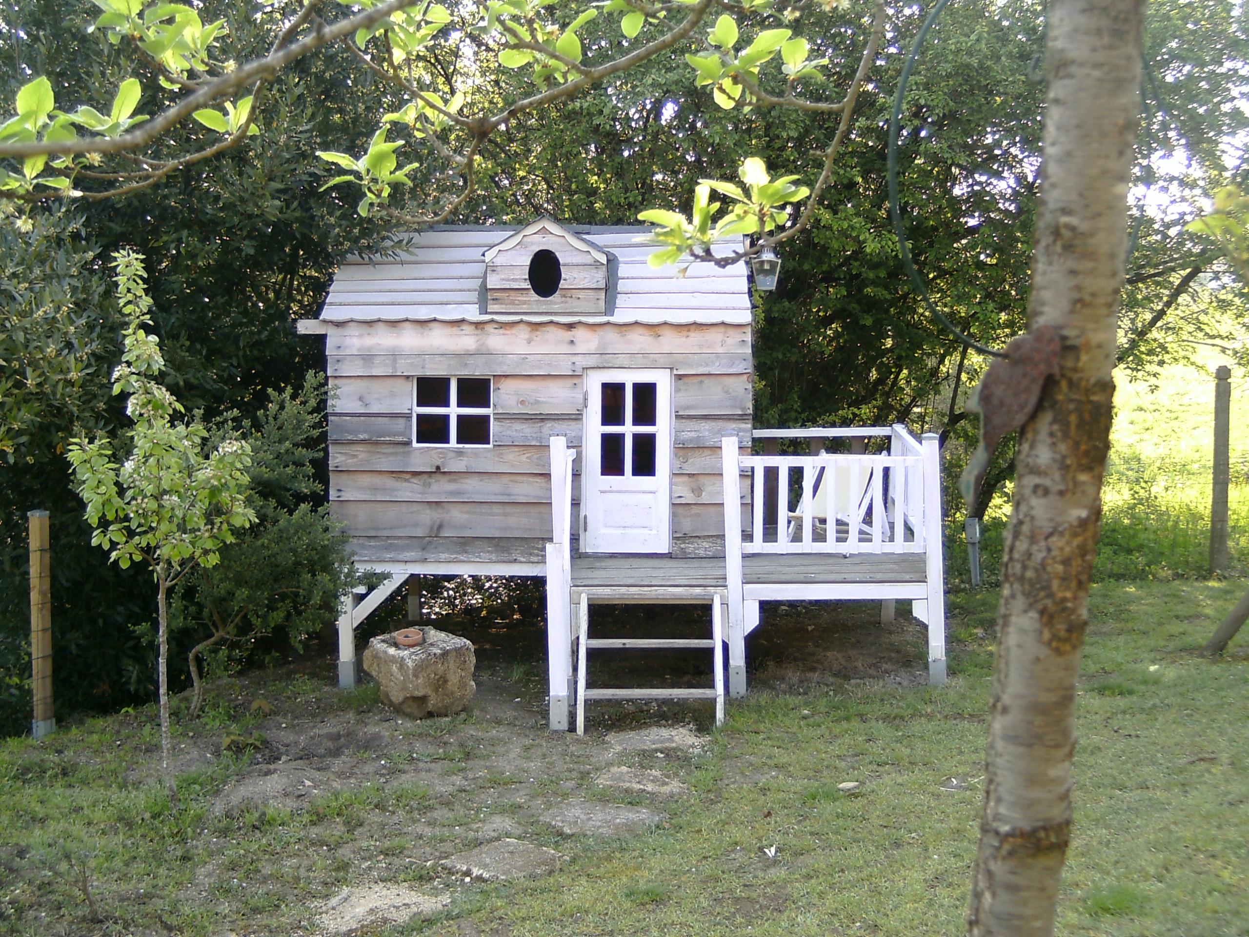 Cabane à jardin