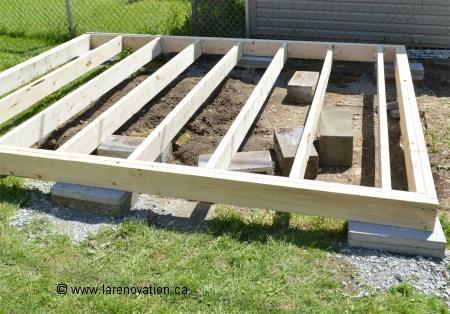 Comment construire une cabane de jardin mobilier de - Comment monter une serre de jardin ...