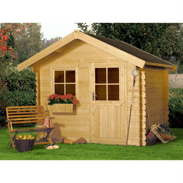 Cabane bois de jardin
