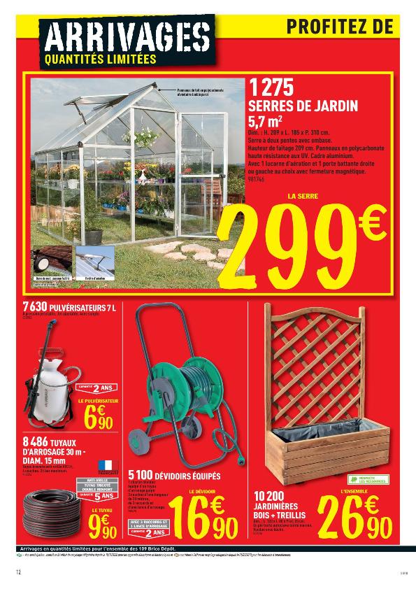 Serre De Jardin A Brico Depot Mobilier De Jardin Et Terasse