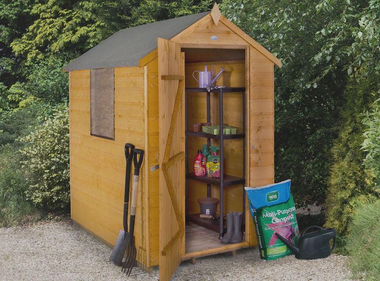 Abri outils de jardin en bois