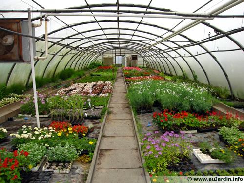 Fonctionnement d'une serre de jardin