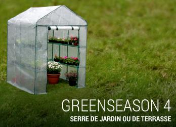 Serre de jardin greenseason