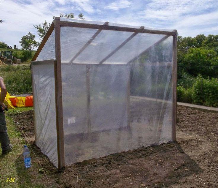 Fabriquer 1 serre de jardin