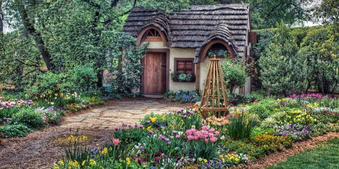 Cabane de jardin insolite