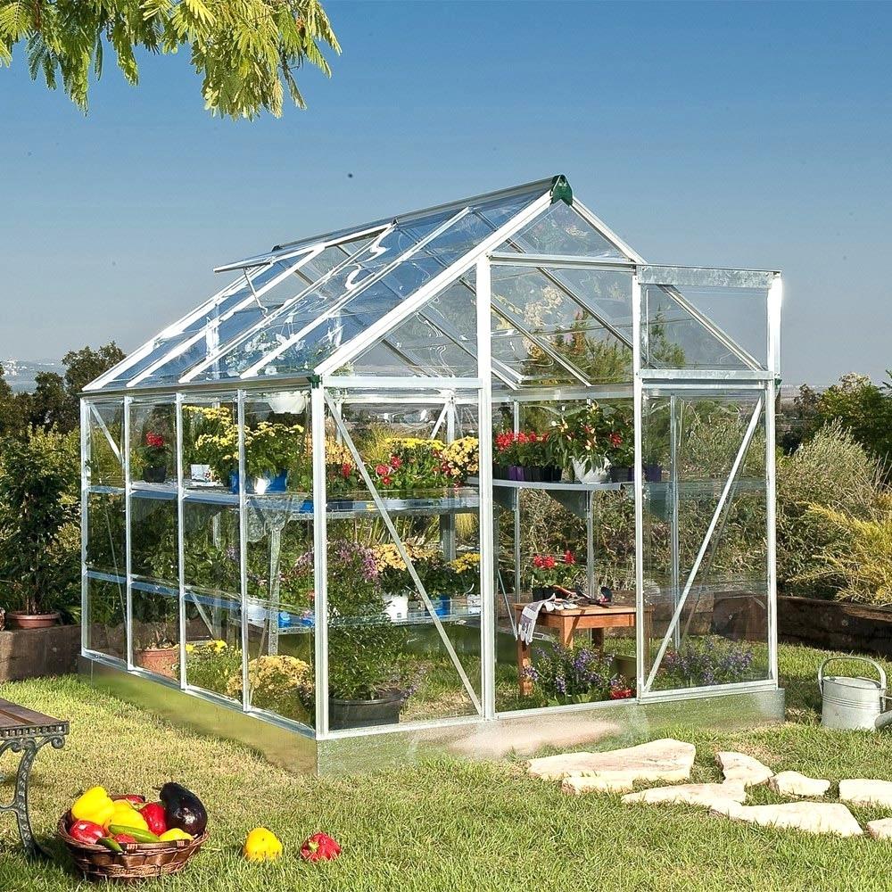 Serre en verre pas cher mobilier de jardin et terasse - Serre de jardin en verre pas cher ...