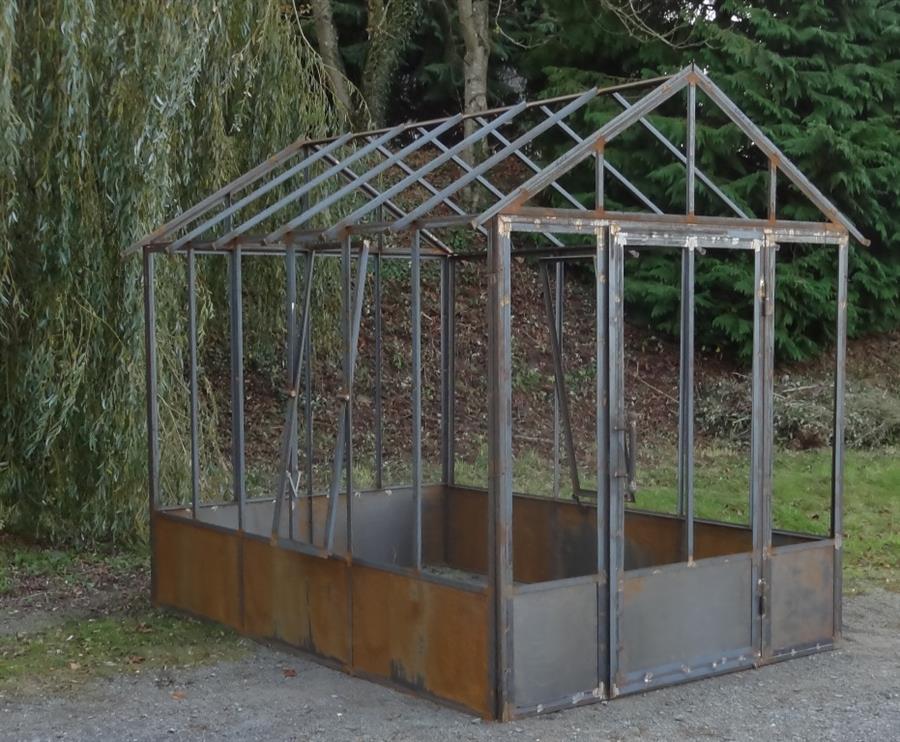Serre jardin fer