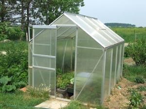 A donner serre de jardin