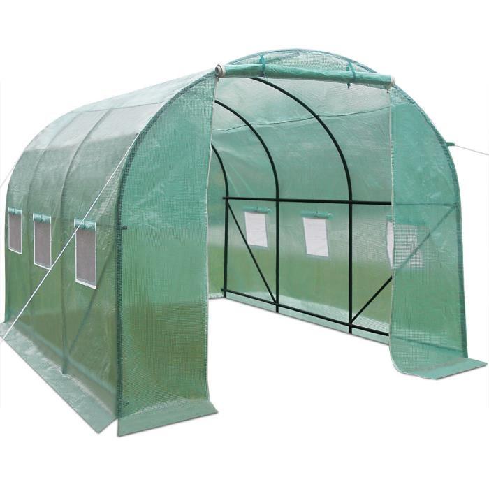 Serre de jardin 10m2 polycarbonate