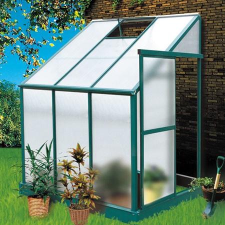 Serre de jardin 9 27m2 abri plantes alu / polycarbonate