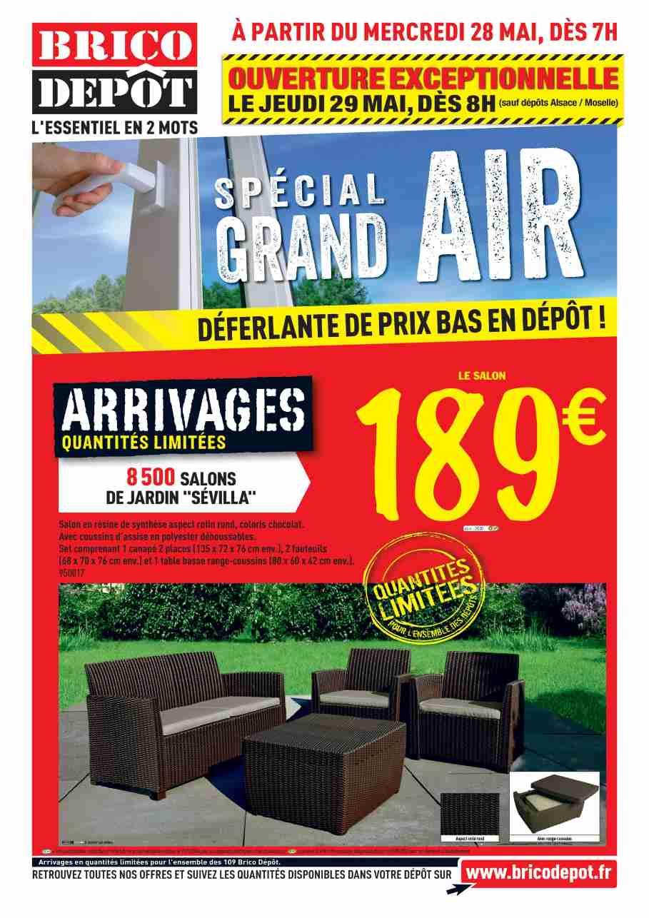 Salon De Jardin Promo Brico Depot Mobilier De Jardin Et
