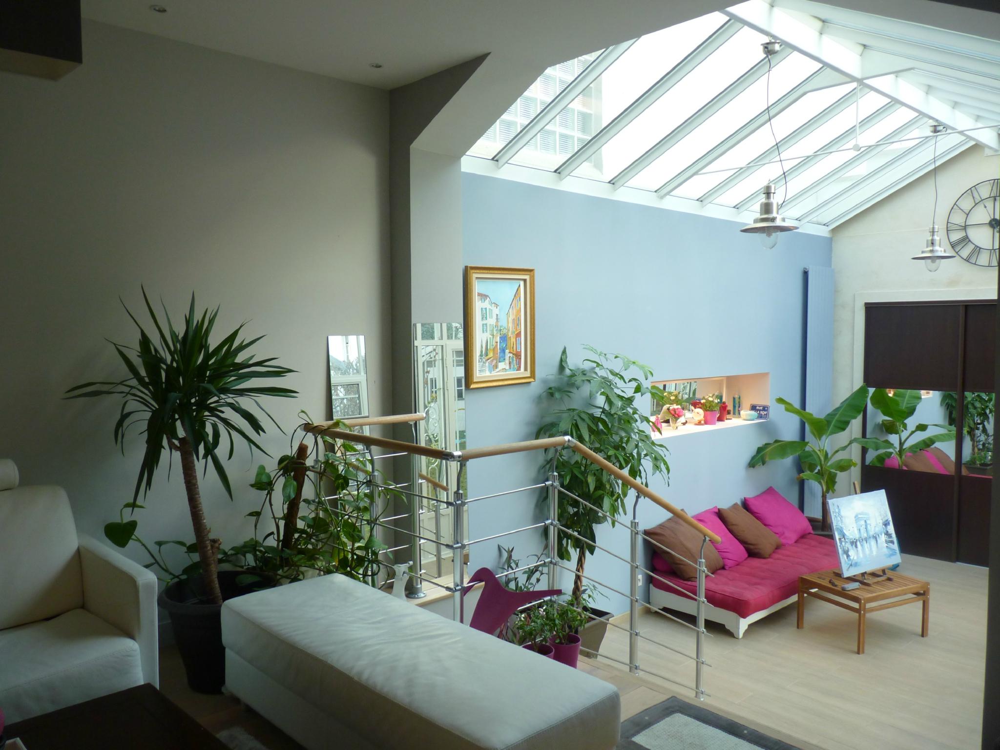 Salon de jardin interieur