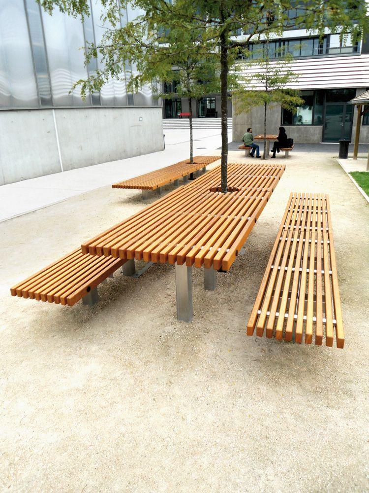 Mobilier exterieur bois