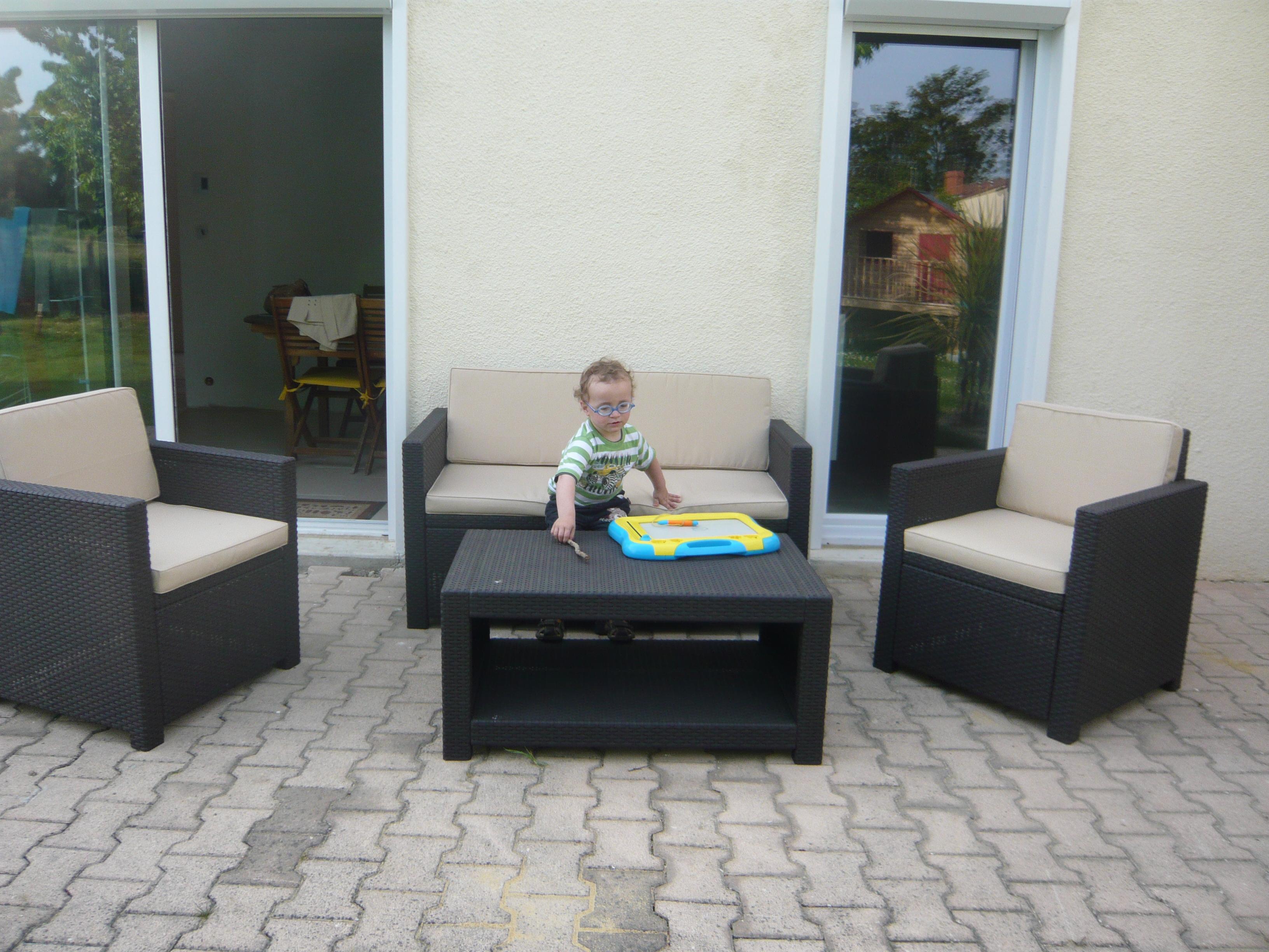 Salon De Jardin Ikea. la table basse en rotin une touche d ...