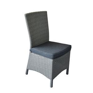 Chaise de jardin en résine tressée