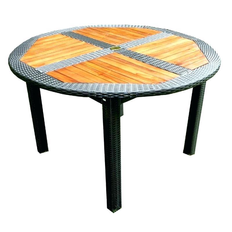 table jardin ronde mobilier de jardin et terasse. Black Bedroom Furniture Sets. Home Design Ideas