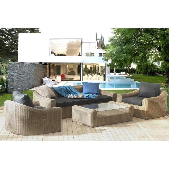 Salon de jardin aluminium hesperide - Mobilier de jardin et ...