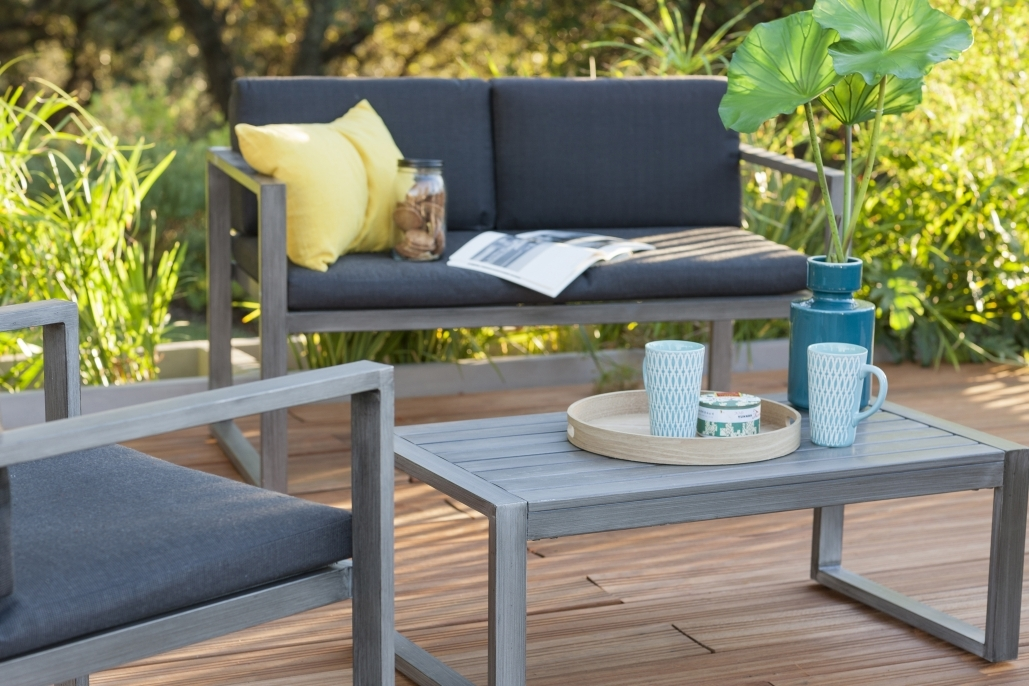 salon de jardin confortable et zen mobilier de jardin et terasse