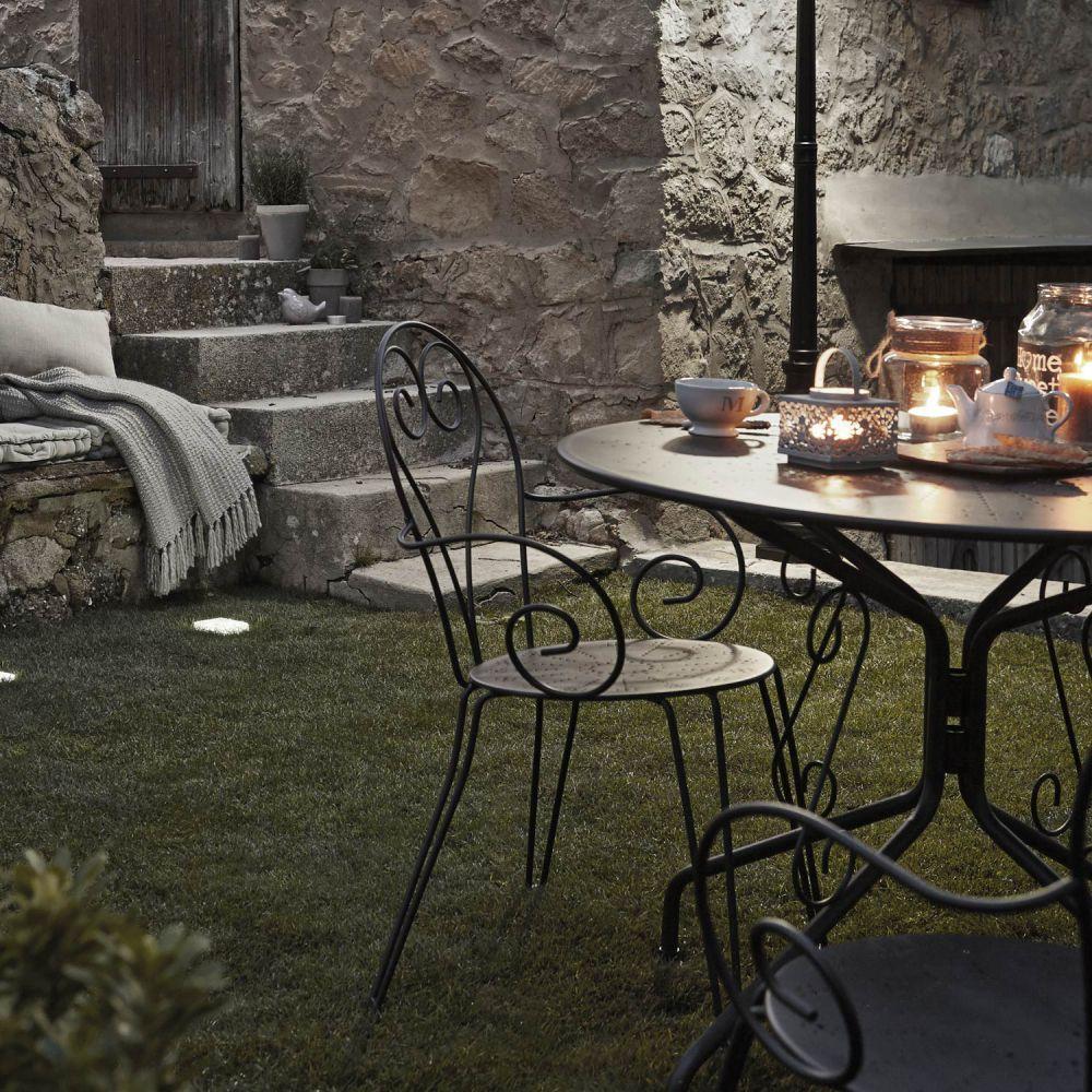 Salon de jardin metal rouille - Mobilier de jardin et terasse