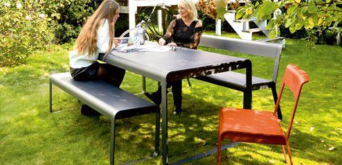 Salon de jardin en aluminium fabrication française