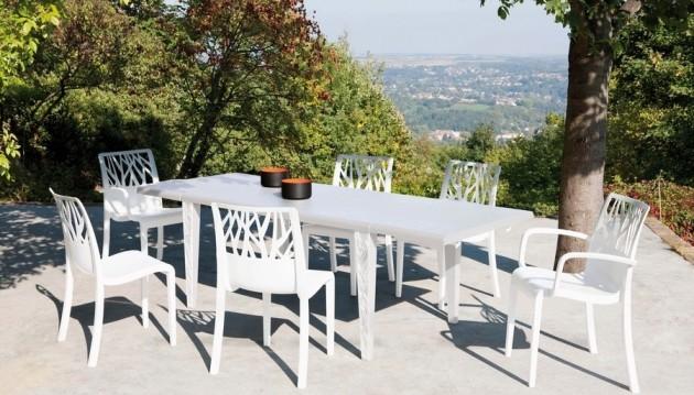 Emejing Table De Jardin Aluminium Mr Bricolage Images - House Design ...