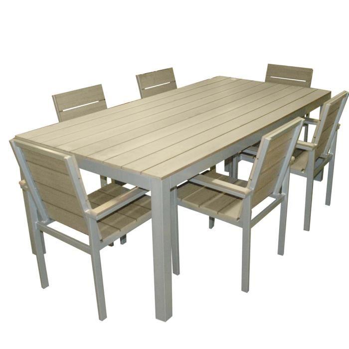 Ensemble table chaise jardin pas cher - Mobilier de jardin ...