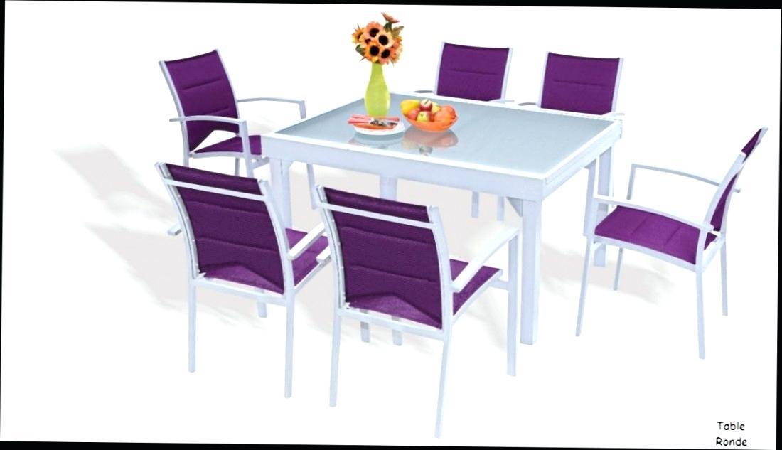 Table de jardin et chaise pas cher
