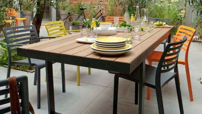 Salon de jardin palette castorama