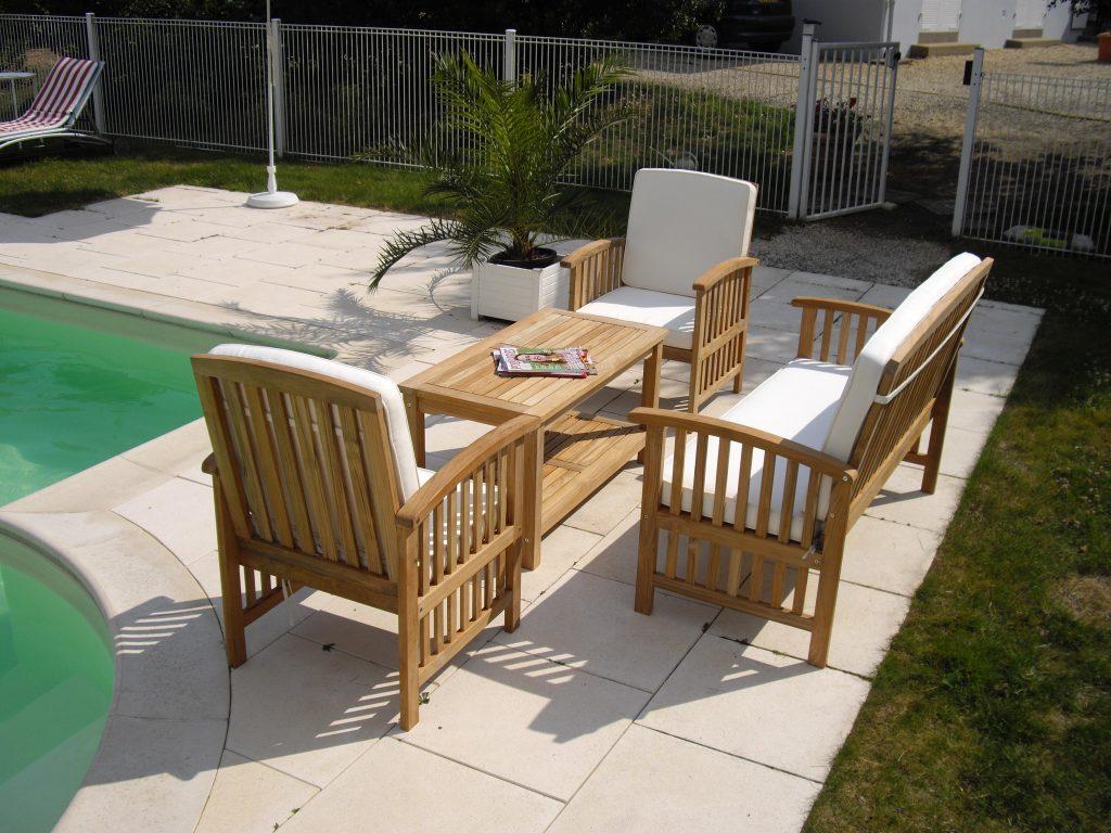 Table salon de jardin promo - Mobilier de jardin et terasse