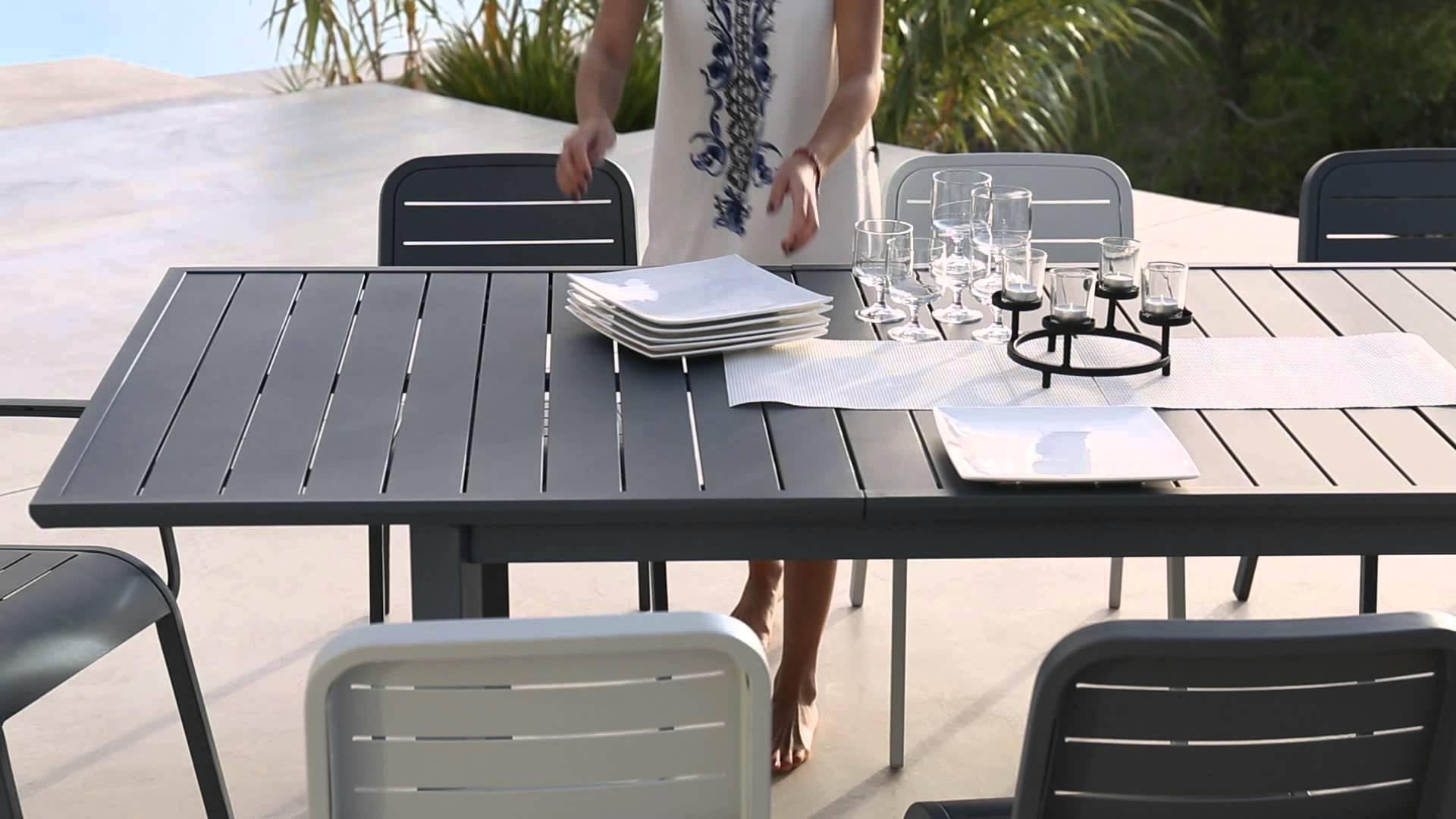 Salon de jardin aluminium kettler - Mobilier de jardin et terasse