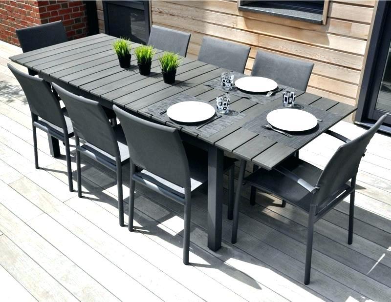 Salon de jardin aluminium laqué - Mobilier de jardin et terasse