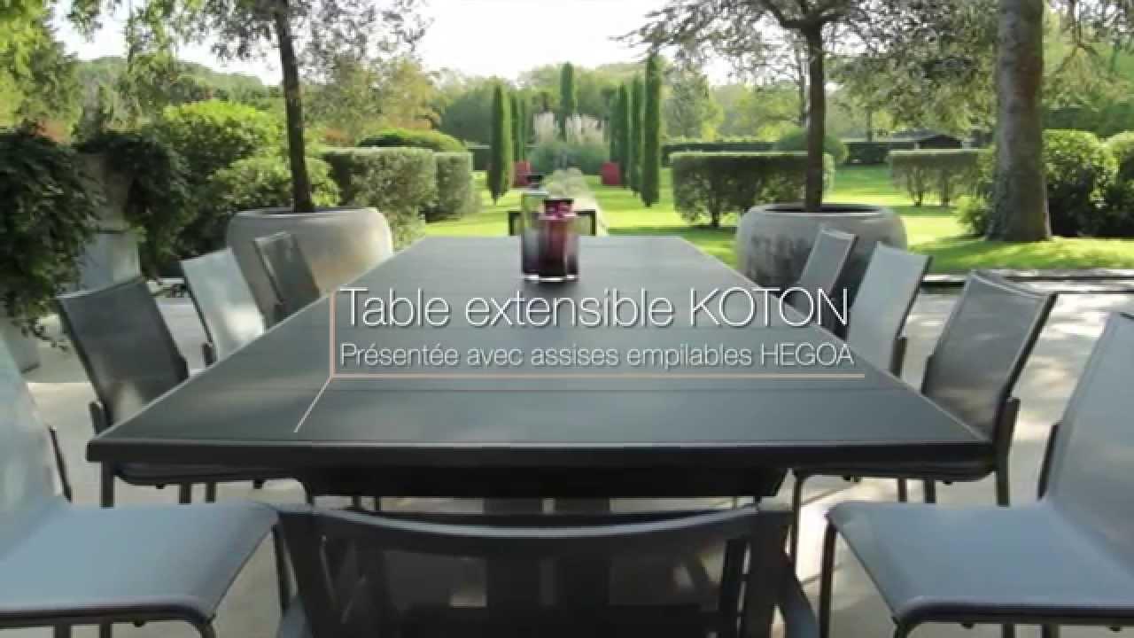 Salon de jardin aluminium haut de gamme - Mobilier de jardin ...