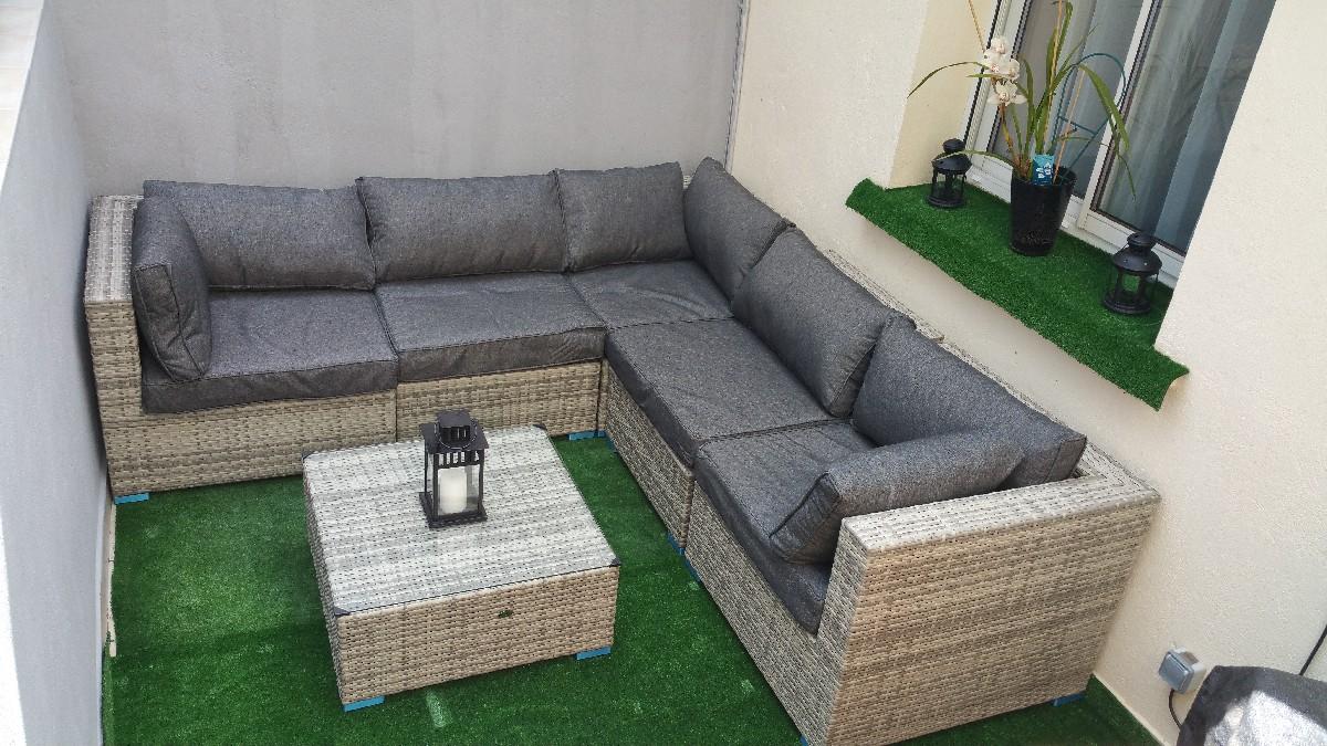 salon de jardin angle mobilier de jardin et terasse. Black Bedroom Furniture Sets. Home Design Ideas