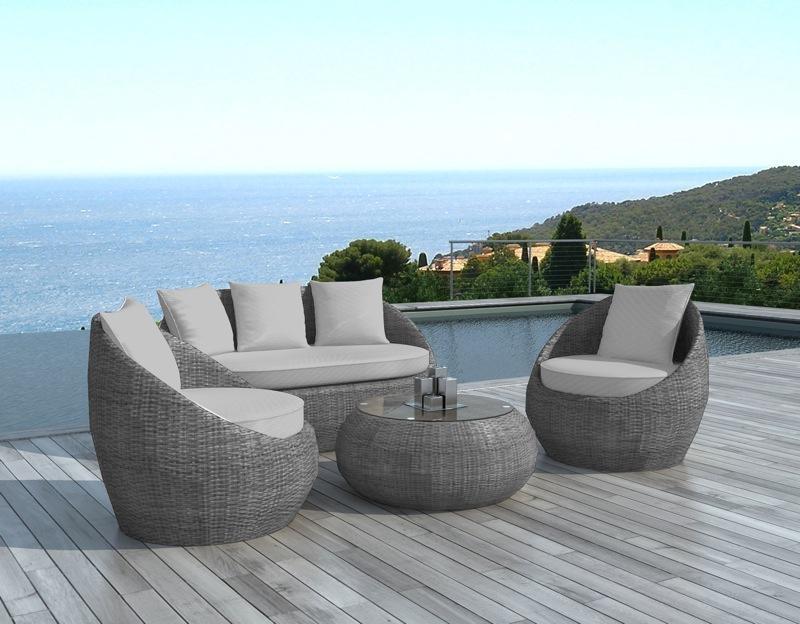 Promo salon de jardin en resine mobilier de jardin et terasse - Salon de jardin villaverde ...