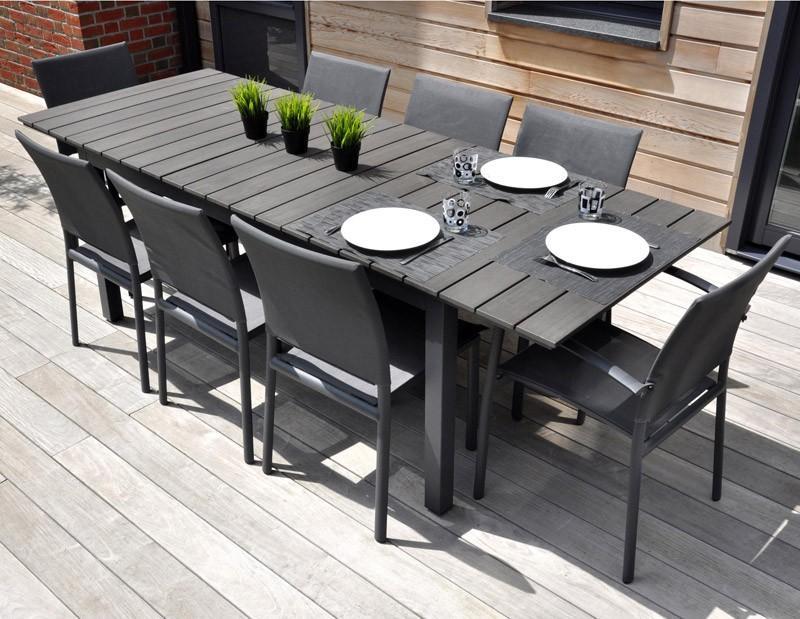Salon de jardin aluminium marbella - Mobilier de jardin et ...