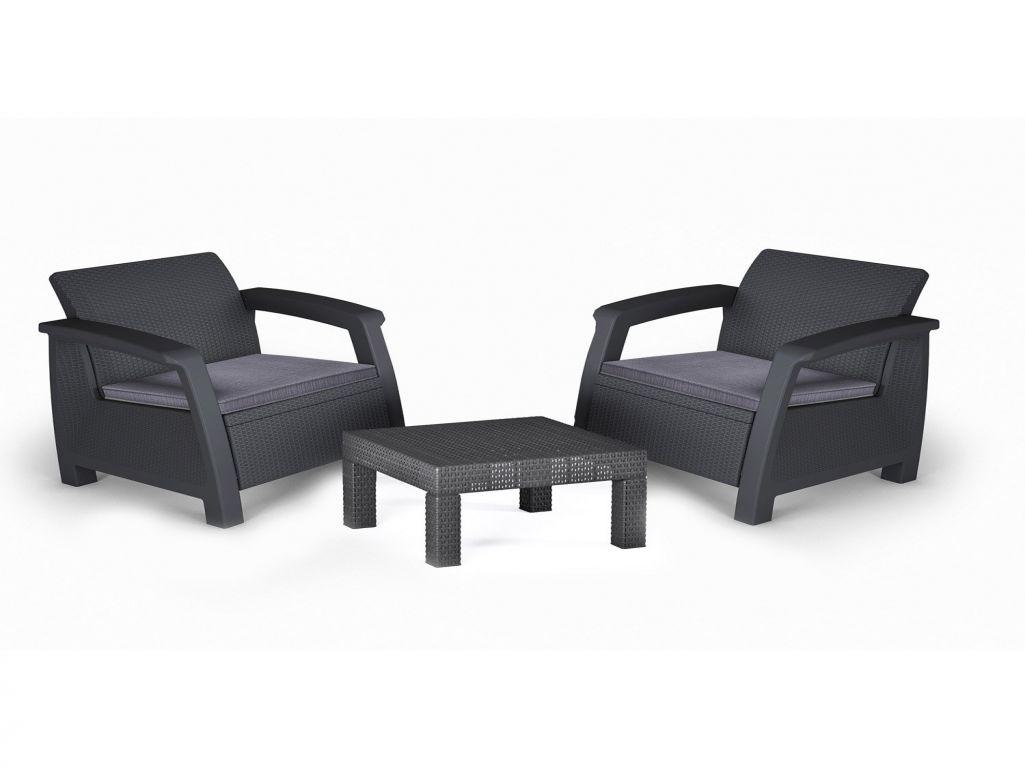 salon de jardin 2 personnes resine mobilier de jardin et. Black Bedroom Furniture Sets. Home Design Ideas