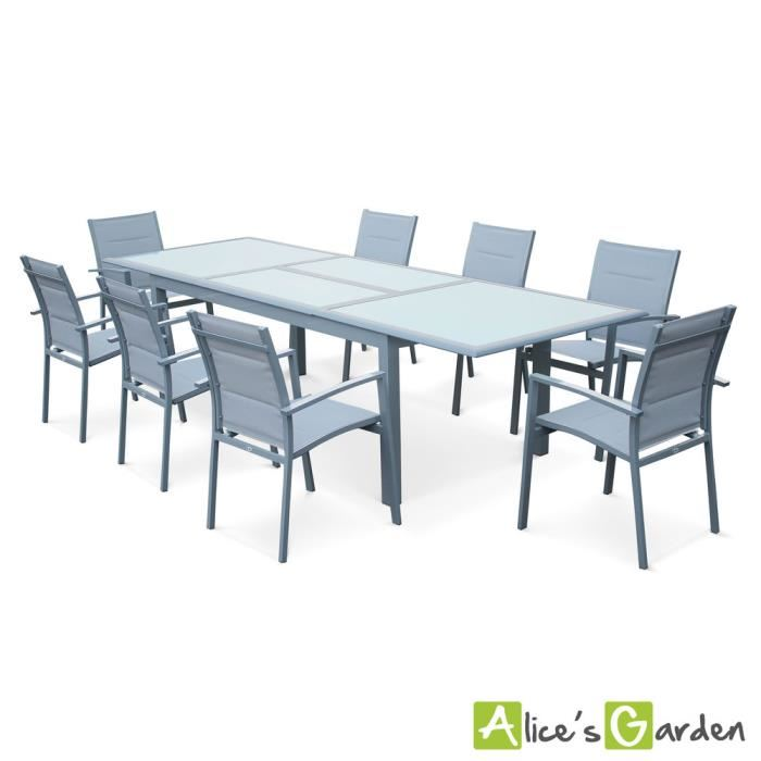 Stunning Table De Jardin Extensible Marino Gris Ideas - House Design ...
