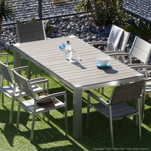 Stunning Table De Jardin Aluminium Avis Photos - House ...