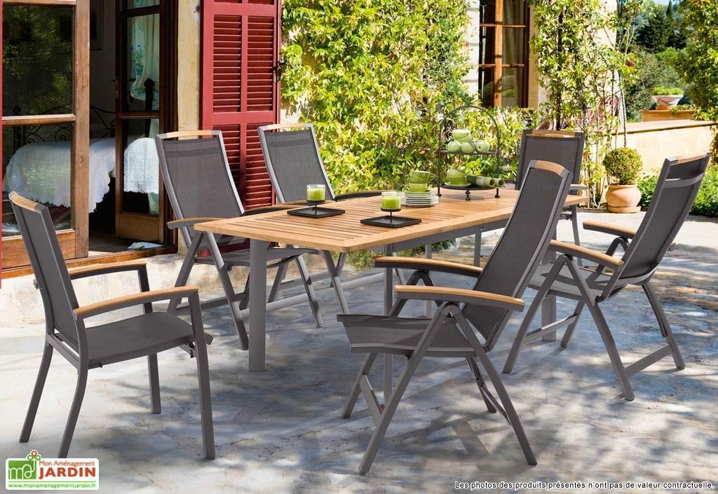 Fabricant de salon de jardin aluminium - Mobilier de jardin et terasse