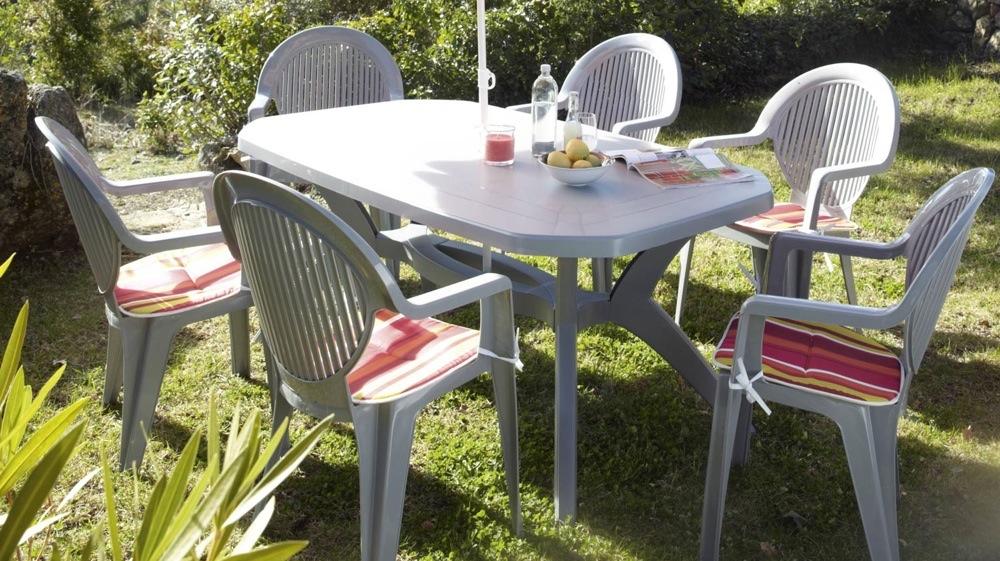Salon de jardin plastique promo mobilier de jardin et - Salon jardin hesperide discount ...