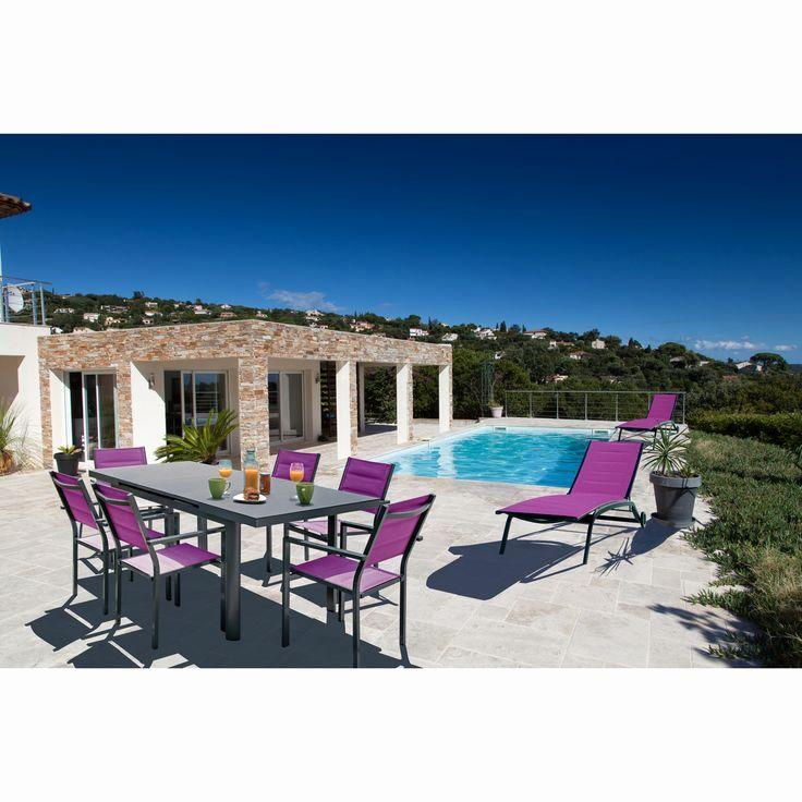 salon de jardin aluminium auchan mobilier de jardin et. Black Bedroom Furniture Sets. Home Design Ideas