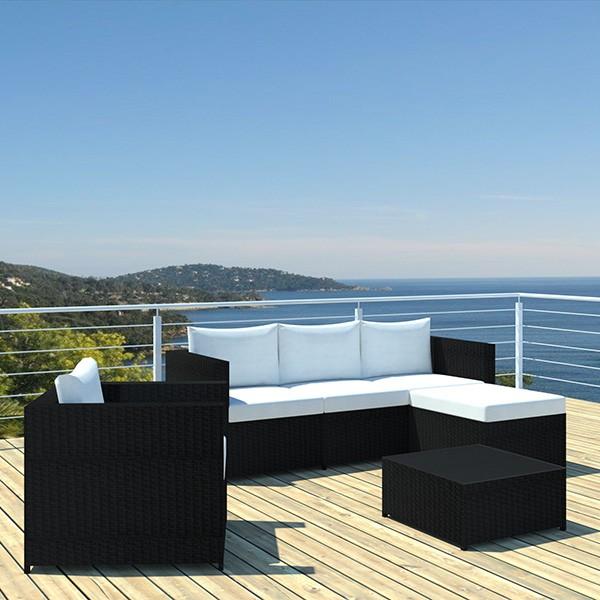 Best Table De Jardin Noir Tresse Pictures - House Design ...