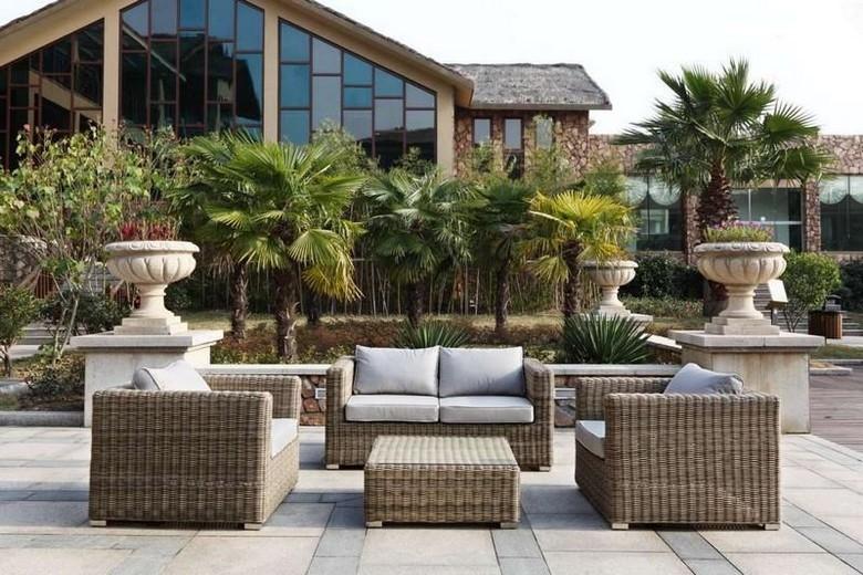salon de jardin blooma loa castorama mobilier de jardin. Black Bedroom Furniture Sets. Home Design Ideas